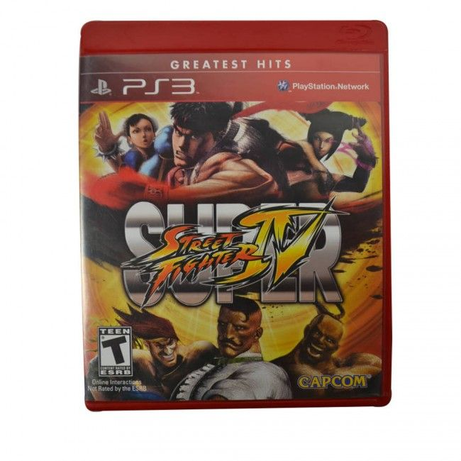 Juego PS3 Street Fighter IV Original - Juegos de Consola - TV, Consolas y Juegos - Tecnología - Sensacional