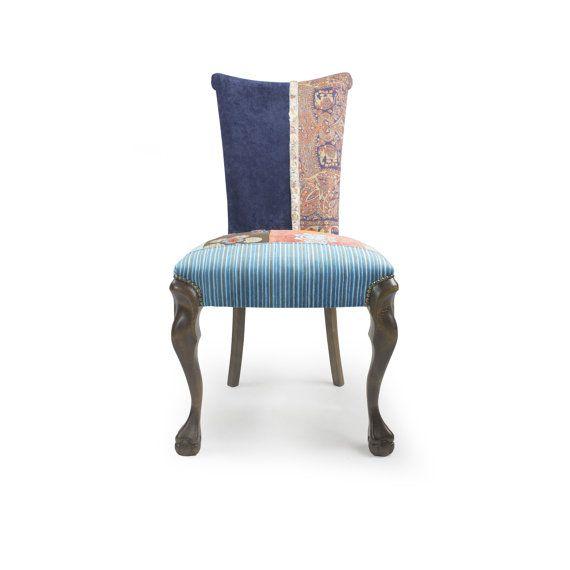 Französischen Stil Patchwork Stuhl Lwia Lapa Braz von lasilladesign