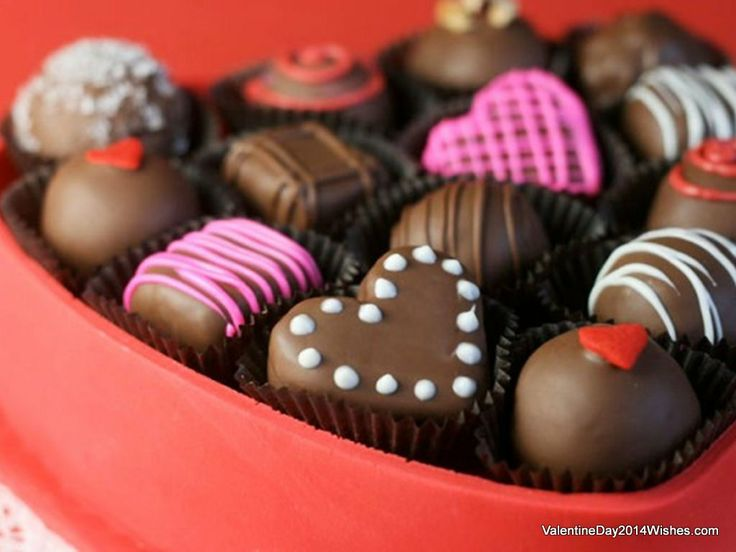 Chocolate Day Wallpaper HD - Cute Chocolate Day Gift [ValentineDay2014Wishes.com]