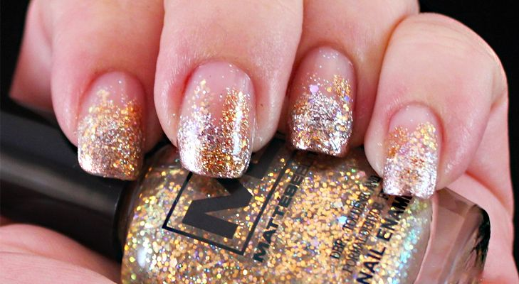 #DIY #Funky #Glitter #Nail #Art