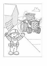 ausmalbilder bob der baumeister38 in 2020 | bob der baumeister, ausmalen, malvorlagen für kinder