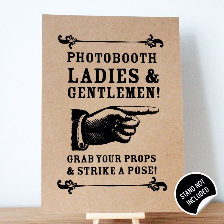 A personal favorite from my Etsy shop https://www.etsy.com/listing/202415732/photobooth-wedding-sign-shabby-chic
