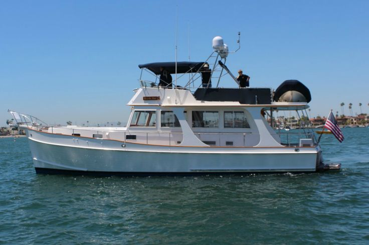 2002 Grand Banks 46 Europa for sale in Redondo Beach, CA #BoatsForSale #GrandBanks #Trawlers