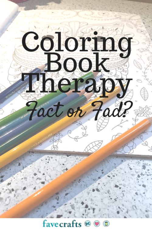 Coloring Book Therapy: Fad or Fact? | FaveCrafts.com