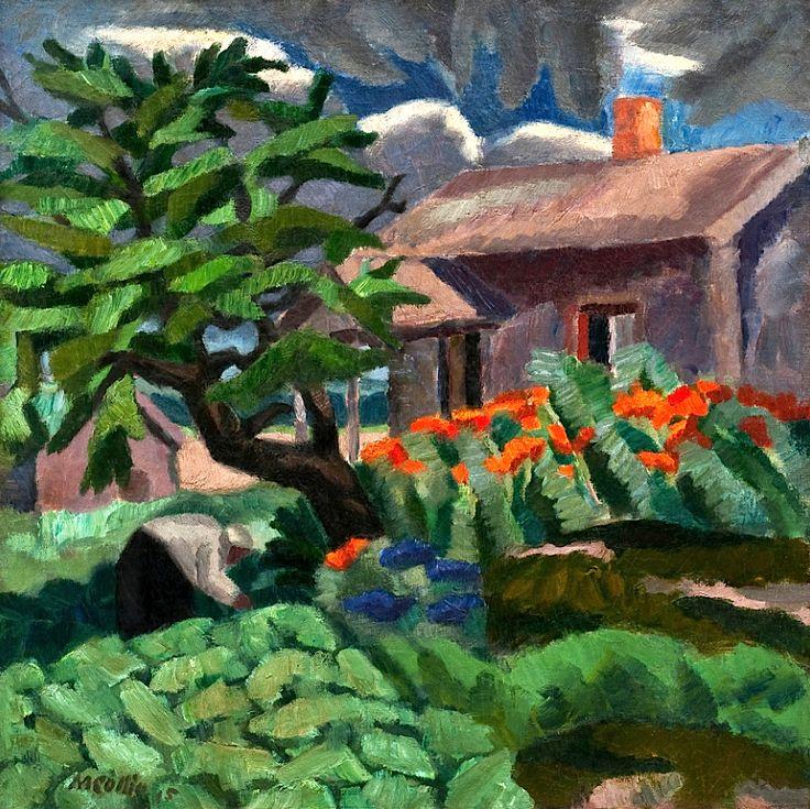 Marcus Collin 1882-1966 A Summerish Farm Finland
