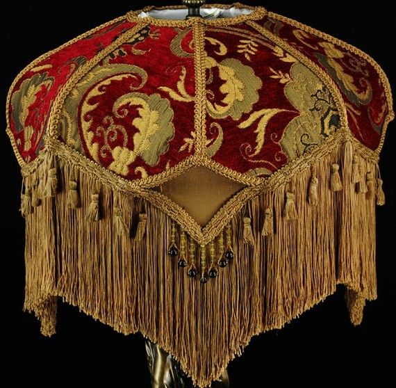 17 Best Images About Victorian Lamp Shades On Pinterest