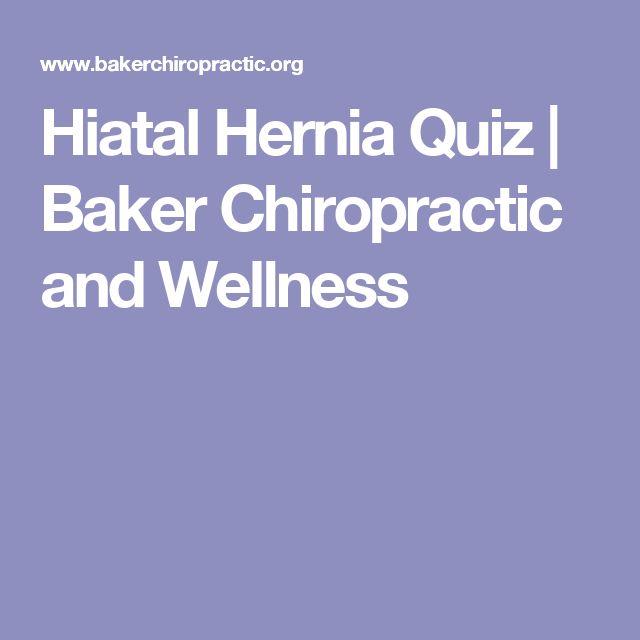 Hiatal Hernia Quiz | Baker Chiropractic and Wellness