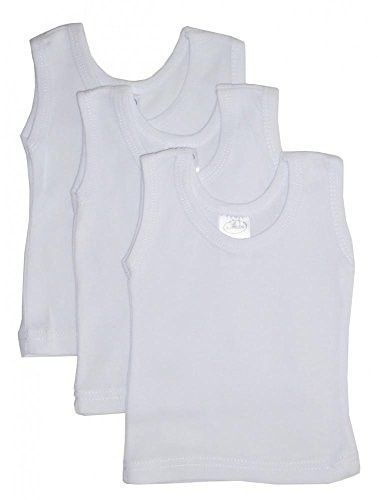 a6cefffaeca62f Bambini Baby Boys Girls Unisex 3-Pack Sleeveless T-Shirts Tanks ...
