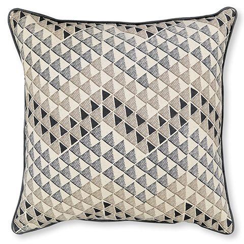 Anika Black Cushion 45cm