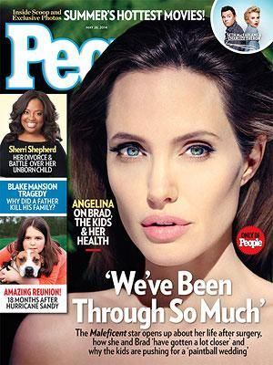 ON NEWSSTANDS 5/16/14: Angelina Jolie Talks Wedding Plans, Her Health and How Her Life Has Changed