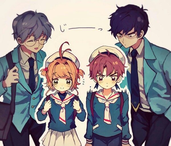 Sakura | Syaoran | Yukito | Touya | CardCaptor Sakura | CLAMP