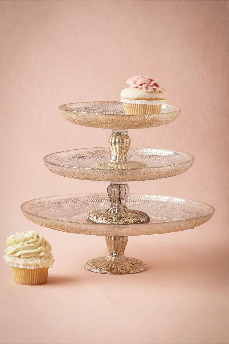 BHLDN Antiquitarian Cake Stand in  Décor View All Décor at BHLDN - It doesn't have good reviews, but something similar would be nice for the cookie table