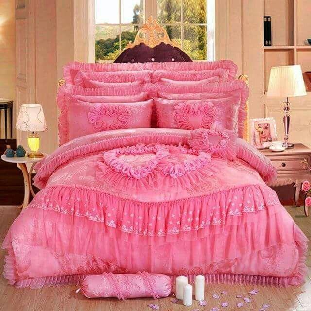 Königin Bettwäsche Sets, Luxuriöse Bettwäsche Sets, Billige Kissen,  Prinzessin Hochzeit, Bettwäsche, Spitzen Hochzeiten, König Königin, Quilt  Kissen, Kissen