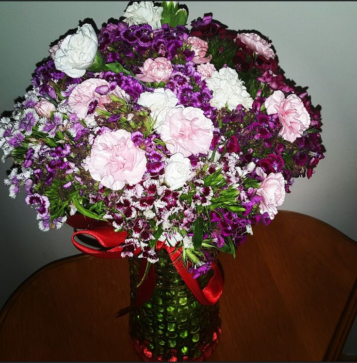 Çiçeklerden gelen huzur