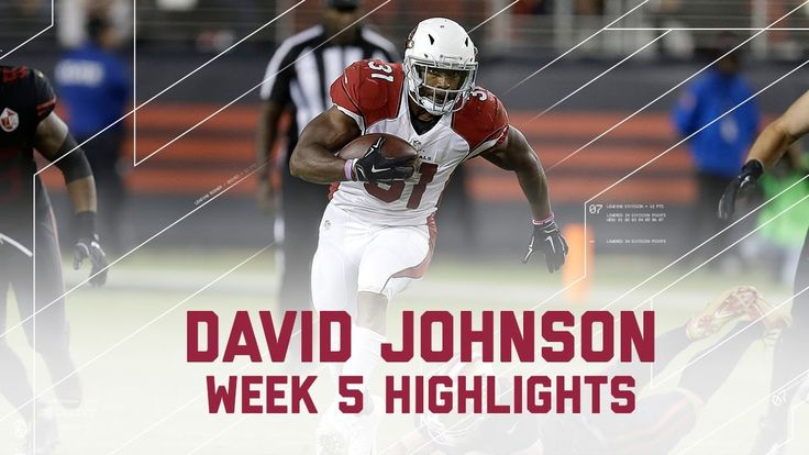 VIDEO:   Thursday Night Football: Cardinals vs. 49ers  -  October 6, 2016:  33 - 21, Cardinals  -     David Johnson Runs Over 49ers for 157 Yards! | Cardinals vs. 49ers | NFL...