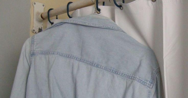 Ducha para planchar la ropa