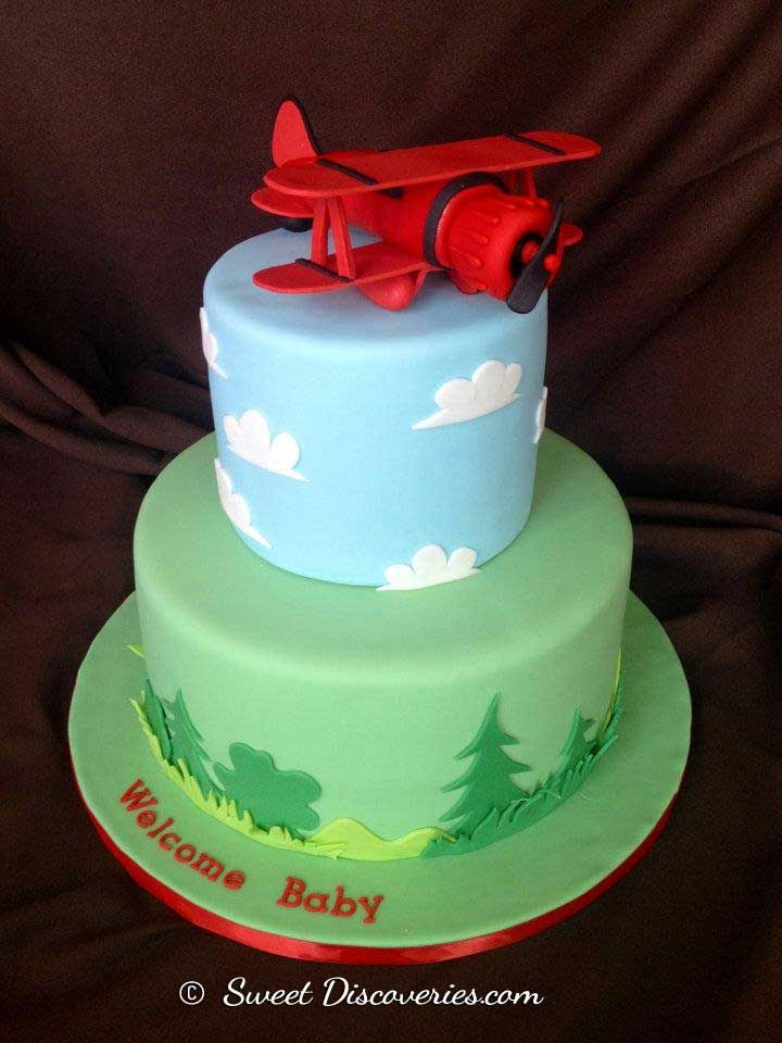 91 best Airplane Fondant Cakes images on Pinterest Airplane