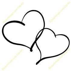 Two Hearts Tattoo on Pinterest   Heart Tattoos, Tattoos and body ...