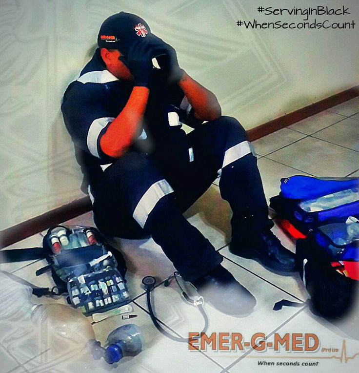 EMER-G-MED #WhenSecondsCount #ServingInBlack