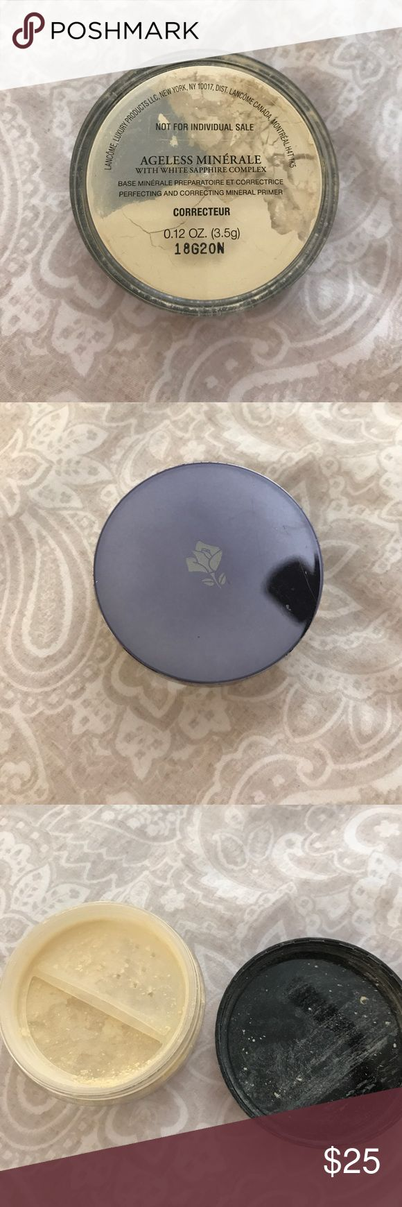 Lancome Ageless Minerale Powder Ageless Minerale with white sapphire complex (CORRECTEUR). Full Size hardly used. Lancome Makeup Face Powder