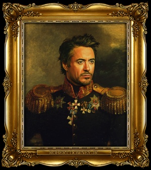 RDJ is too cool. From Replaceface: Celebrity, Robert Downey, Russian Generals, Art, Steve Payne, Downey Jr, Clinteastwood, Clint Eastwood