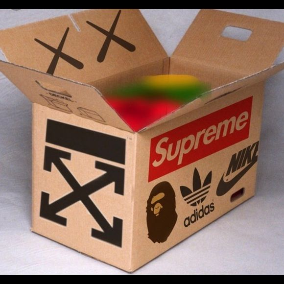 100 Authentic Mystery Box Sneakers Box Clothing Boxes Vintage Clothing Men