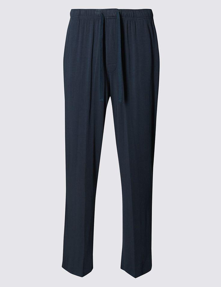 Supima® Slim Fit Pyjama Bottom with Modal