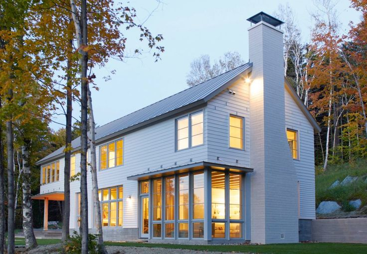 Winter Vacation Retreat in Vermont Boasts Magnificent Views – freshome.com/…