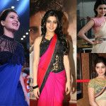 12 Of The Best Blouse Designs Samantha Sported