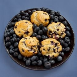 "16 Blueberry Recipes.  This even has a ""blueberry omelet"" on it!"