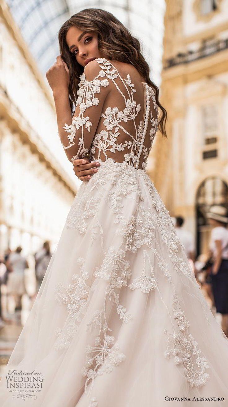 Giovanna Alessandro 2019 Brautkleider – Kleid Magica Milano 201 Brautkollektion – Brautkleider Ballkleid