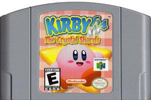Kirby 64:The Crystal Shards - N64 Game Original Nintendo 64 game cartridge only. All DK's classic used games are cleaned, tested, guaranteed to work and backed by a 120 day warranty.