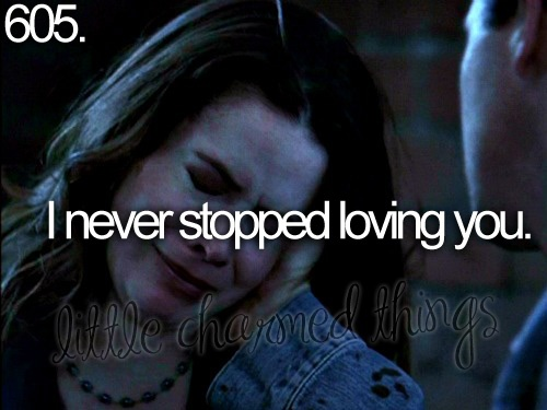 Little charmed things #tv - piper and leo <3
