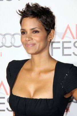 women's short pixie haircut | Halle Berry Short Pixie Haircut | halle-berry Hairstyle