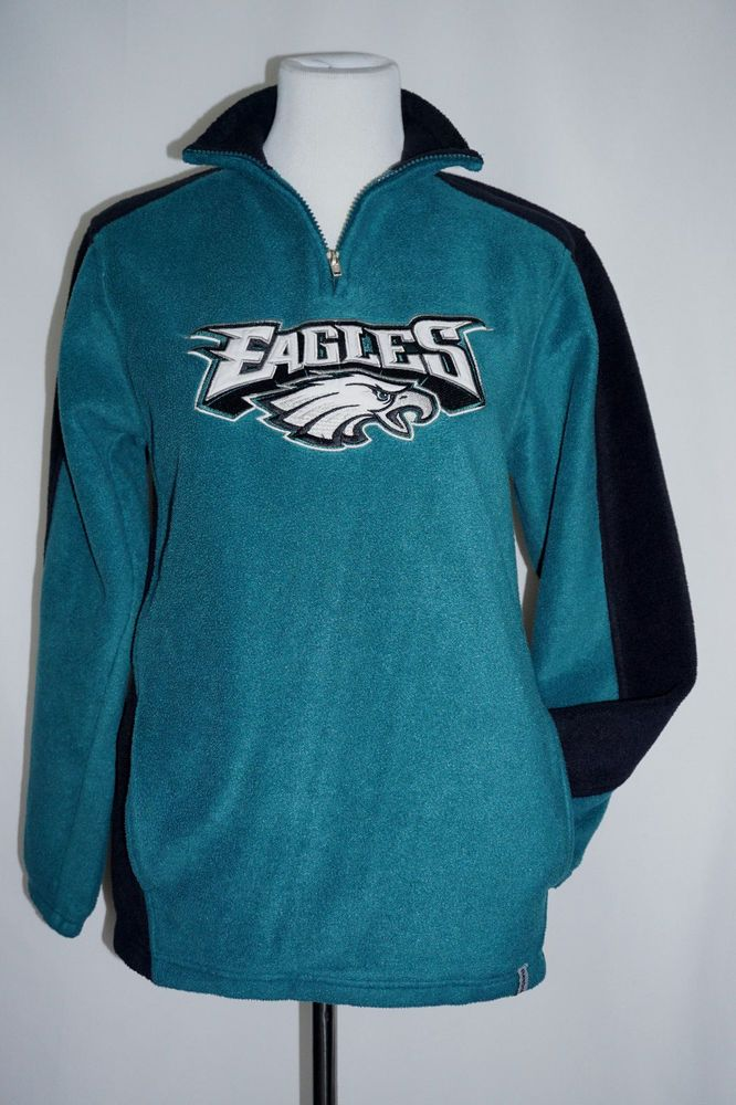 NFL Mens Panthers 1//4 Zip Poly Jersey