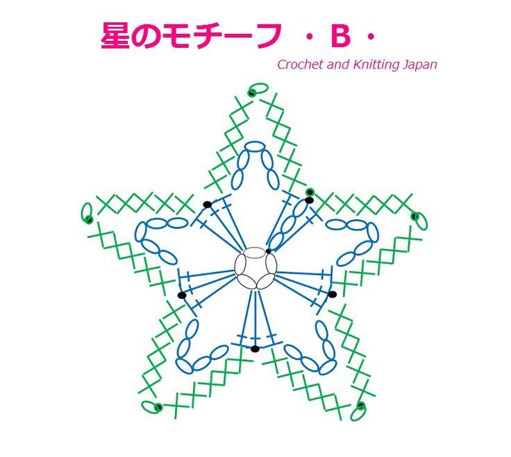 星のモチーフの編み方・A・【かぎ針編み】How to Crochet Star Motif・A・ https://youtu.be/3dHTONNqD_Q 編み図と字幕で、解説しています。 くさり編み、細編み、引き抜き編み、ピコット編みで編みます。 2段目で完成する、初心者さんでも、簡単な星のモチーフです。