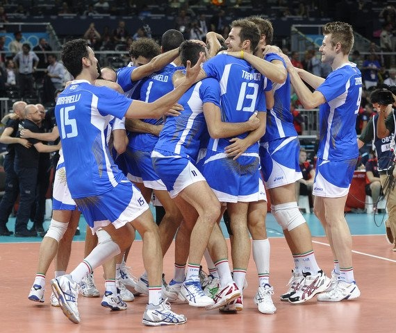 Italian Volley Team wins the bronze medal at London Olympics 2012 #Volley People
