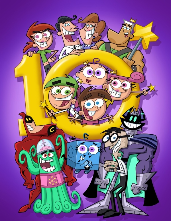 The Fairly OddParents ... yes, I watch it! It had an awesome cast of hilarious characters! :)