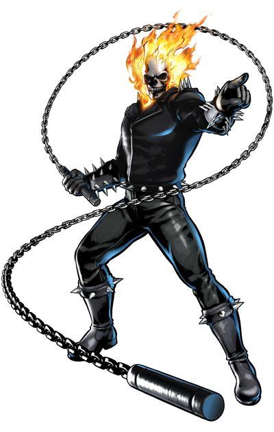 Ghost Rider (Ultimate Marvel vs Capcom 3)