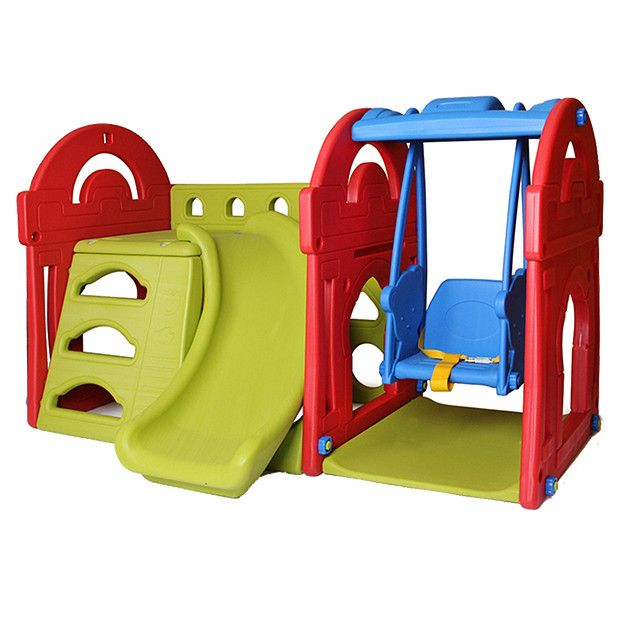 Young Ones Castle Playset with Swing