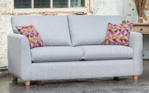 Alstons Carnaby 3-Seater Sofa With Scatter Cushions
