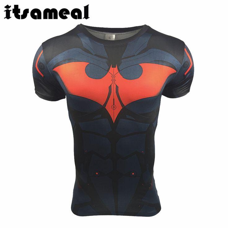 Batman V Superman T shirts Superheld Fitness 3D Gedrukt T shirts in Batman V Superman T-shirts Superheld Fitness 3D Gedrukt T-shirts van T- shirts op AliExpress.com | Alibaba Groep