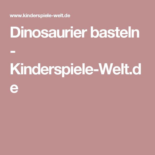 kinderspiele dinosaurier
