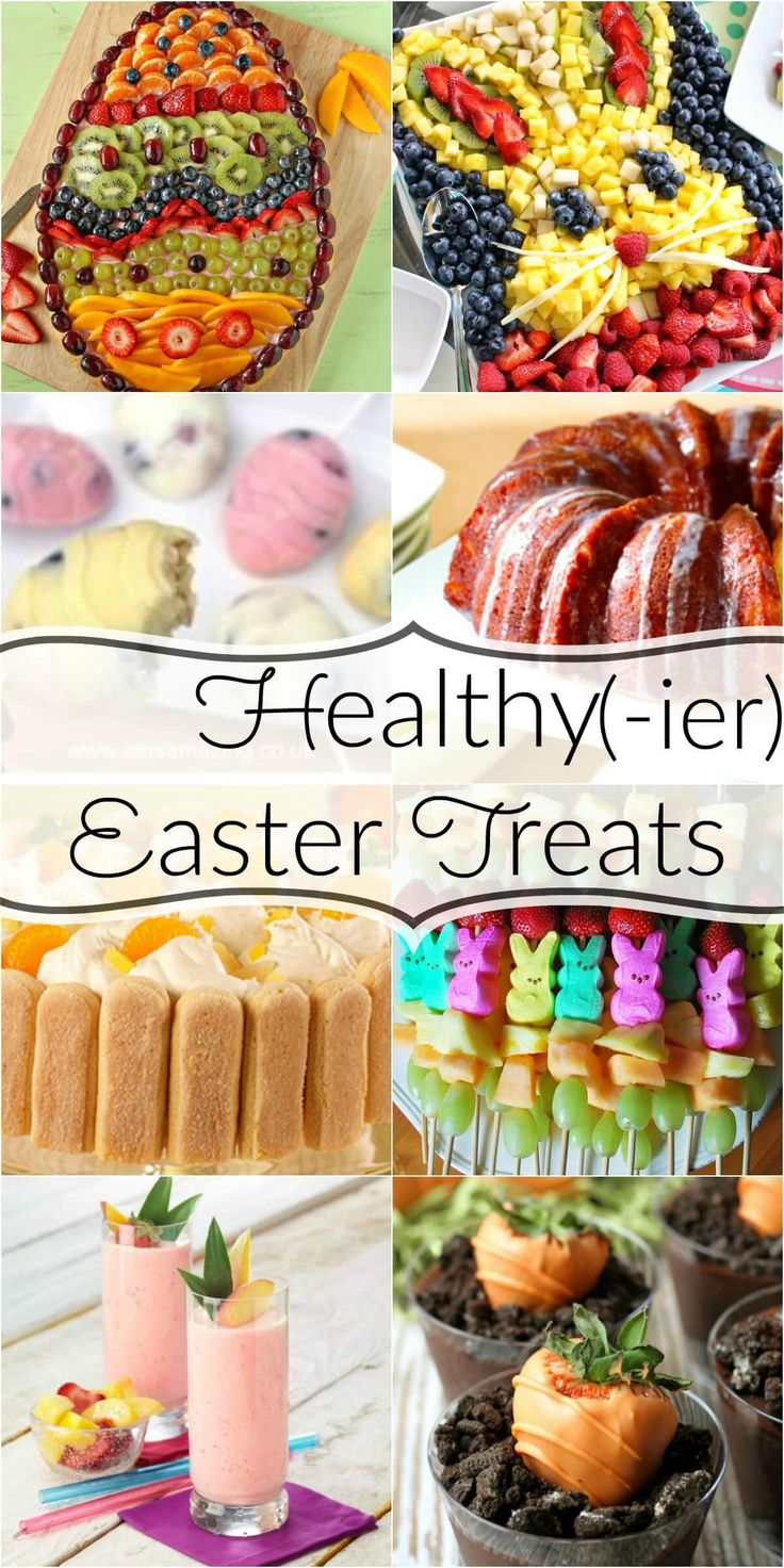 Great alternatives for healthier easter recipes - some lighter Easter treats options