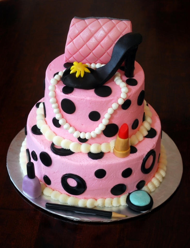 diva birthday cake, I think I know someone that could make this :)