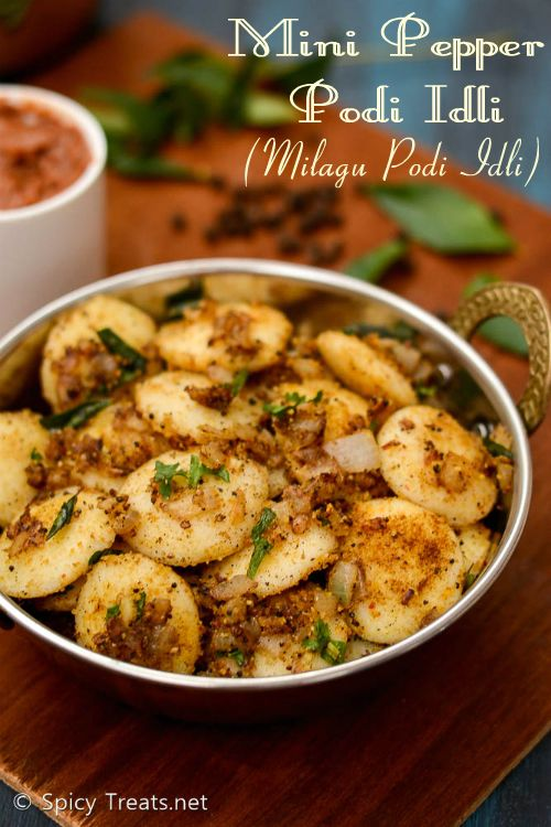 Pepper Podi Idli
