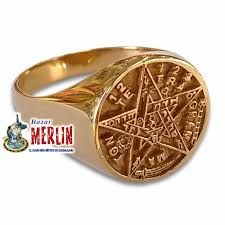 Resultado de imagen para anillos de oro rey salomon