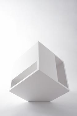 Cube, magazine rack _ by Nendo for Arketipo _