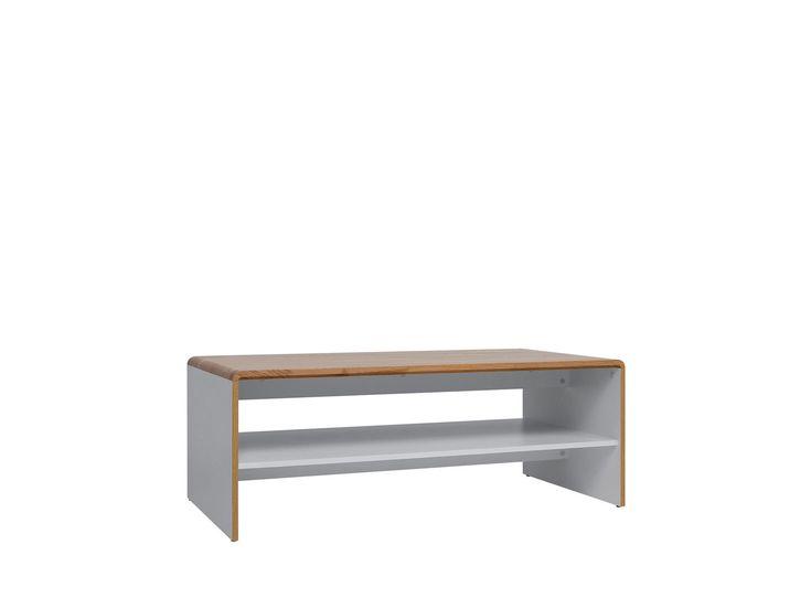Ława Bari 60cm x 43cm x 113,5cm z kolekcji  Bari – salon meblowy BRW