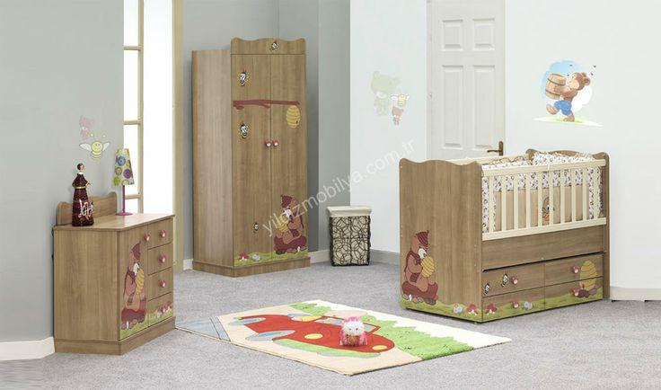 Ayda Bebek Odası #babyrom #baby #dream #bed #home #furniture #pinterest #yildizmobiya #dolap #design #bebek http://www.yildizmobilya.com.tr/
